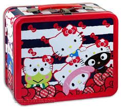 Kitty and friends lunchbox. Tin Lunch Boxes, Metal Lunch Box, Hello Kitty Handbags, Hello Kitty Merchandise, School Lunch Box, Super Saver, Boxes For Sale, Sanrio Characters, Sanrio Hello Kitty