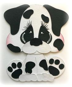 *NEW* POUND PAL DALMATIAN PREMADE PAPER PIECING PIECE 3D DIE CUT MYTB KIRA #MYTEARBEARS