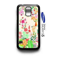 beautifull floral pattern   Samsung Galaxy S5 Case Cover