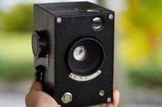 luxCamera - The open source, 3D printed camera using Arduino controls shutter operation and timing.