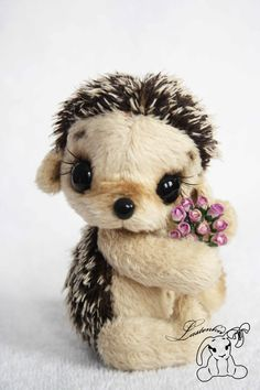 I love hedgehogs! These stuffed animals are expensive, but they are also adorable, handmade, and oh so squeezable. Pancake made to order by Lastenka on Etsy, $100.00
