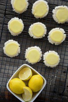 Lemon Meltaway Cookies #recipe #lemon