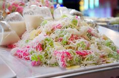 Thai dessert.