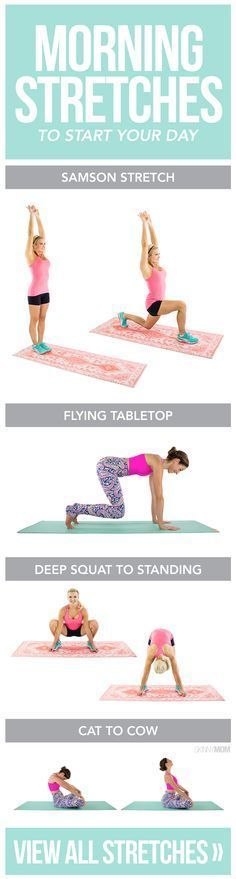 The best mornings stretches to start your day off right.