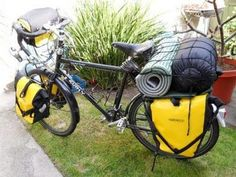 Bicycle Camping in San Diego County: Packing the Bicycle for Camping: A Pictorial Essay