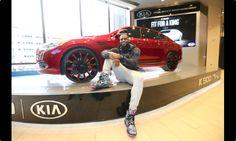 LeBron James Customized 2015 Kia K900 Luxury Sedan