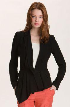 "rachel roy ""drape"" restructured jacket"