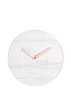 Cullen Wall Clock, in Marble and Copper. A collaboration between MADE and Livingetc. £49. MADE.COM