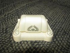 Vintage Jewelry Ring Box Art Deco Design West Frankfort Illinois | eBay