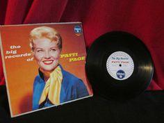 Vintage Patti Page-Pillsbury Promo Album by trackerjax on Etsy