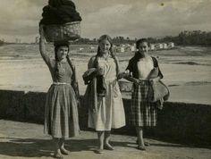 Redeiras de Portonovo. Década de 1950.