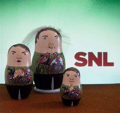 SNL Stefon Matryoshka Dolls by bobobabushka on Etsy, $150.00