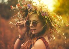 www.piotrbardo.com  Model: Biruta   #hippie #flowerpower #summer