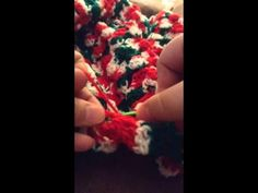 Crochet Christmas blanket
