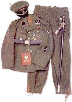 German SS Captain