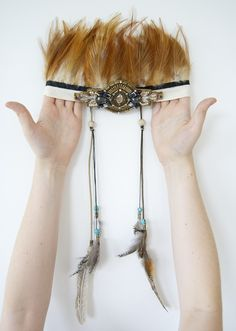 {DIY} it's tribal headdress time! | ohnorachio!