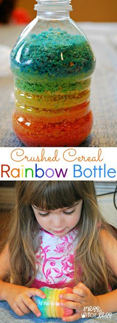 "DIY: Make your own ""Rainbow"" Sand from Morning Cereal ~~ Seriously! {Sulia article with extra link}"