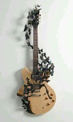 Not a bass guitar but it's still amazing
