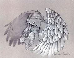 Tatuajes de ángeles y diseños de regalo