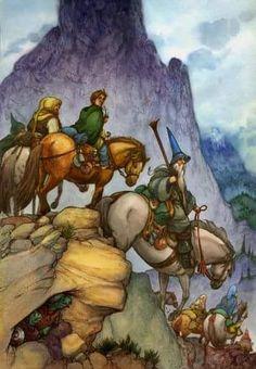 """David Wenzel, """"The Hobbit"""""""