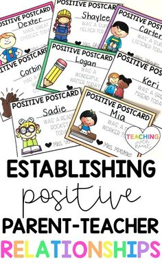 Building positive relationships with parents is one of the most important things you will do as a teacher. This blog post has tips for establishing positive parent-teacher communication that will help you establish a positive relationship with parents. Teaching Second Grade, Second Grade Teacher, First Grade Teachers, Parents As Teachers, Kindergarten Teachers, Elementary Teacher, Elementary Education, Classroom Activities, Classroom Organization