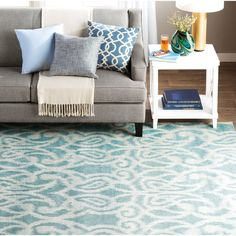 You'll love the Hodgins Teal Area Rug at Wayfair - Great Deals on all Rugs products with Free Shipping on most stuff, even the big stuff.