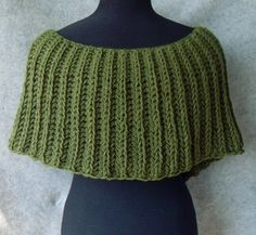8a40f9d0272d Knitted poncho - asymmetrical and very beautiful for autumn (color like  grass)