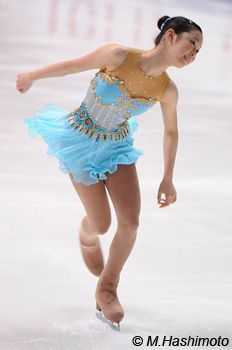 Haruka Imai, Blue Figure Skating / Ice Skating dress inspiration for Sk8 Gr8 Designs