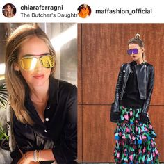 The best blogger sunglasses Thom Browne and Chanel eyewear