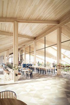 Hammarbysjöstad, new real-estate project, Stockholm Interior design, Scandinavian design, 3D visualisation, render, archviz, 3Ds Max, modern design