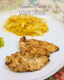 Plain Chicken: Sriracha Ranch Chicken