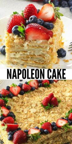 Making a classic, elegant French Napoleon (AKA, Mille Feuille) is much easier than it appears. Making a classic, elegant French Napoleon (AKA, Mille Feuille) is much easier than it appears. Dessert Party, Köstliche Desserts, Delicious Desserts, Napoleon Dessert, Cupcake Recipes, Dessert Recipes, Frosting Recipes, Napoleons Recipe, Gluten Free Vanilla Cake