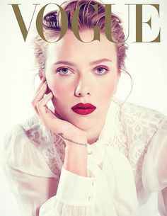 Vogue Mexico and Latam December 2013 Scarlett Johansson