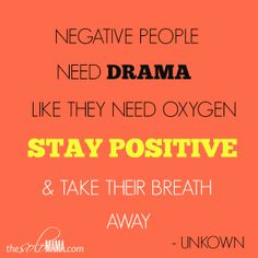3 Tips on How to Deal with Negative People- TheSoloMama.com