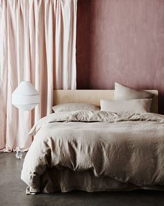 Exciting news from CULTIVER today, the luxury bed linen brand presents Nude, a beautiful new addition to their lineup of colours. Fresh and modern, this soft neutral delivers an extra tonal complement Linen Duvet, Bed Linen Sets, Bed Sets, Cheap Bed Sheets, Cool Beds, Comforter Sets, King Comforter, Duvet Cover Sets, Luxury Bedding