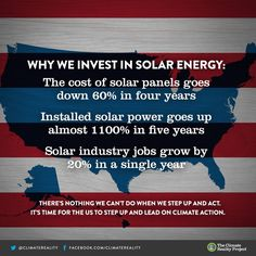 Solar Energy in the US. --- Facts and Figures.