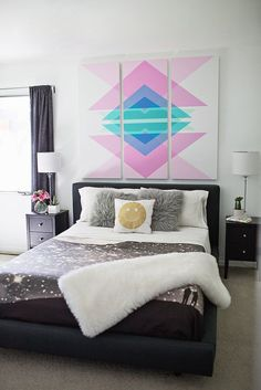 This tutorial on how to make headboard panels has us rethinking our current bedrooms. Source: A Beautiful Mess