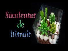 (2) DIY Suculentas de biscuit - YouTube