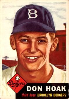 176 - Don Hoak RC - Brooklyn Dodgers