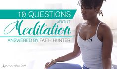 Did you miss out on Faith Hunter's Ask Me Anything About Meditation event? Check out this Q&A compilation, your questions might be answered too!