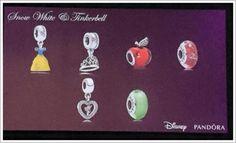 >>>Pandora Jewelry OFF! >>>Visit>> Pandora Disney Spring 2015 - Snow White and Tinkerbell Princess charms! The apple charm is cute. Pandora Charms Disney, Pandora Bracelet Charms, Pandora Jewelry, Pandora Beads, Pandora Disney Collection, Mora Pandora, Disney Proposal, Princess Charming, Disney Jewelry