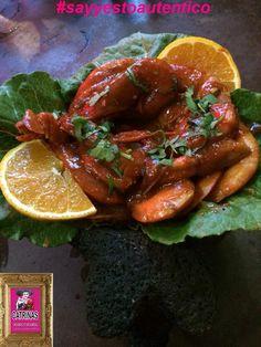 "Coming soon ""shrimp molcajete"" #sayyestoautentico"