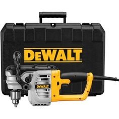 DEWALT DWD460K 11 Amp 1/2-Inch Right Angle Stud and Joist Drill with Bind-Up Control Kit  http://www.handtoolskit.com/dewalt-dwd460k-11-amp-12-inch-right-angle-stud-and-joist-drill-with-bind-up-control-kit/