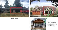 My Biggest Project...turning a Ranch home into a Craftsman-style home