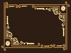 Red ribbon design powerpoint templates borders frames pinterest ornate frame powerpoint templates border frames brown free toneelgroepblik Choice Image