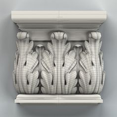 Column capital 003 Model available on Turbo Squid, the world's leading provider of digital models for visualization, films, television, and games. Wood Carving Art, Stone Carving, Column Capital, Pillar Design, Surface Modeling, Stone Columns, Buddha Art, 3d Studio, Carving Designs