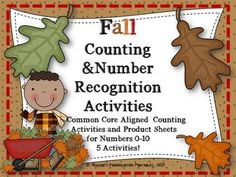 This set has five activities all geared for recognizing the number, counting a quantity the number represents, number word recognition and number writing practice.  Count and Color:  Count the seasonal objects, match tothe corresponding number cards, and color the leaves with the same amount of tallies.Number and Quantity Match Game:  Match leaf cards with numbers to  circles  on the tree sheet with matching sets of tally marks.