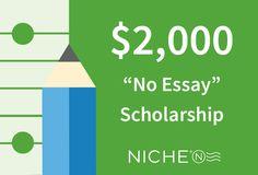 Essay scholarships for high school seniors