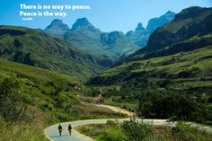 There is no way to peace... -Gandhi [1200x800]