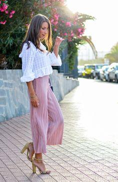 New outfit online :: Plissée Culottes & Steve Madden Heels 💖💖💖